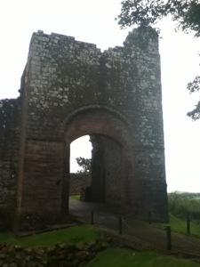 The main gate house at Egremont Castle