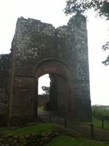 The main gate house at Egremont Castle