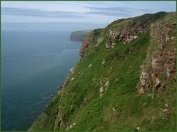 The cliffs of St. Bees