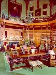 Muncaster castle library