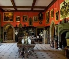 The Great Hall at Muncaster