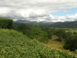 View of Eskdale from Muncaster