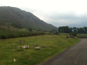 The road to Wasdale Head