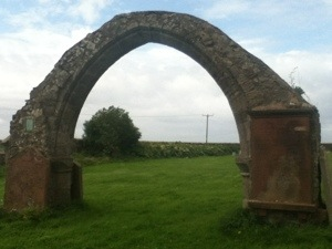 The old church at Moresby