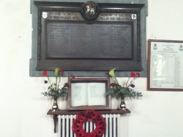 Rememberance Plaque