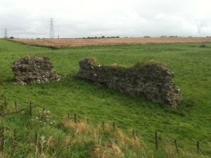 Roman Walls at Seaton