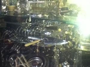 Silver table-ware