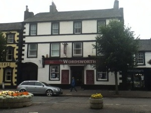 Wordsworth Pub in Cockermouth