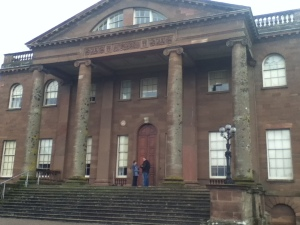 Berrington Hall Front Entrance