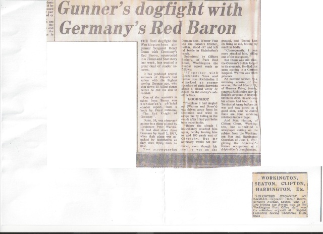 Newspaper report