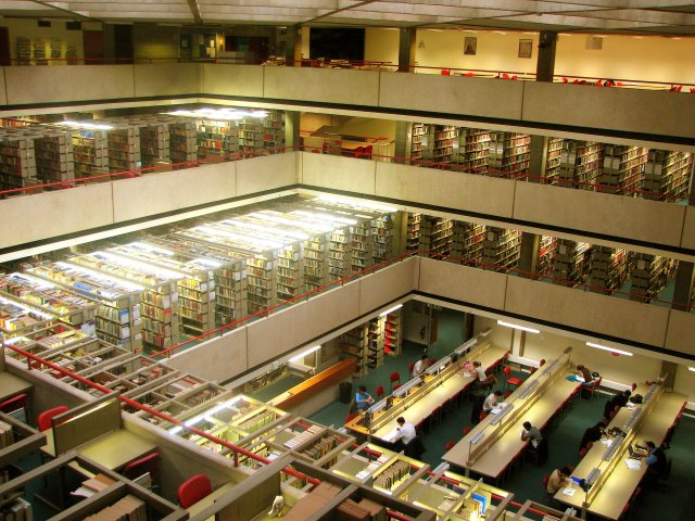 SOAS library main reading room