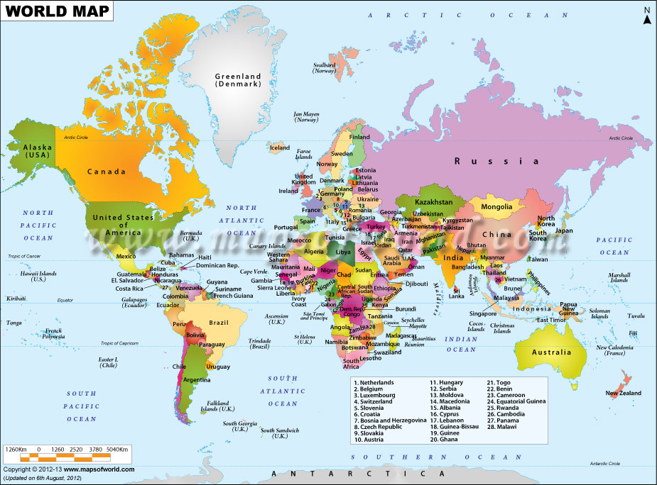 World map with political boundaries freerunsca Image collections