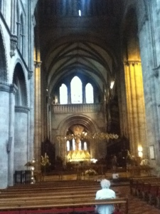 A quiet corner of Hereford Cathedral