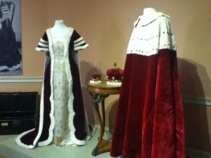 Coronation robes