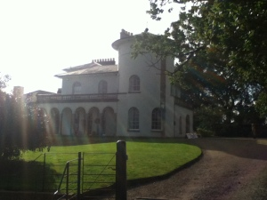 Cronkhill Italian villa