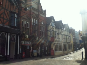 Shrewsbury building styles