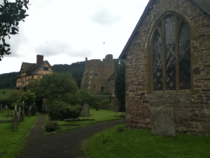 Stokesay view from Churchyard
