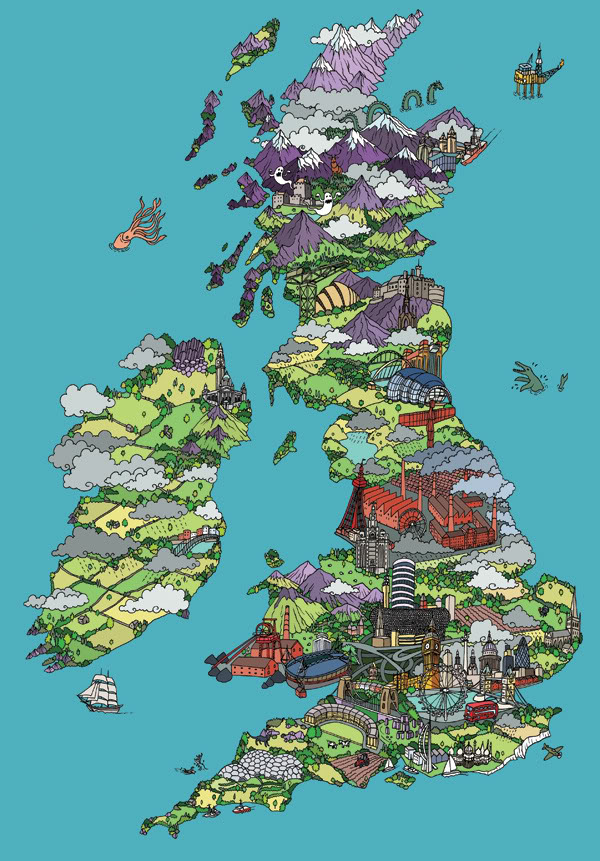 The art in great britain