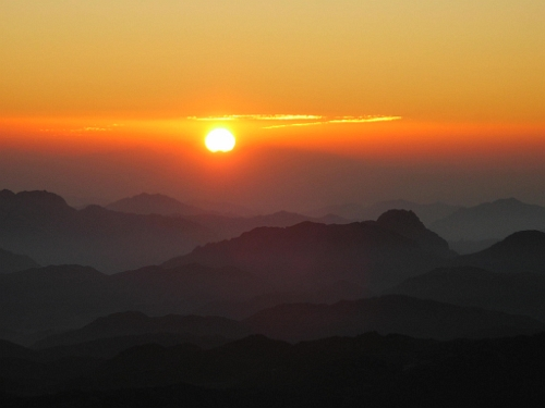 Sinai Sunrise