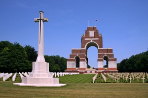 Thiepval-memorial at The Somme
