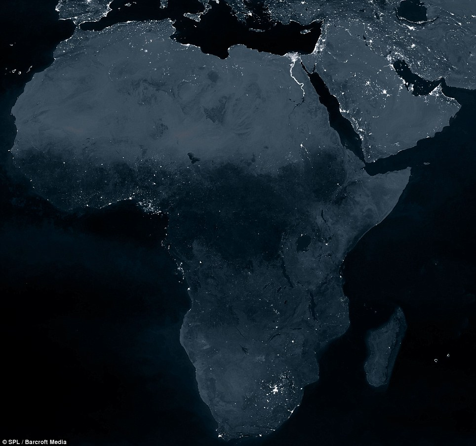 The Black Marble : The Earth from Space at night (2/6)