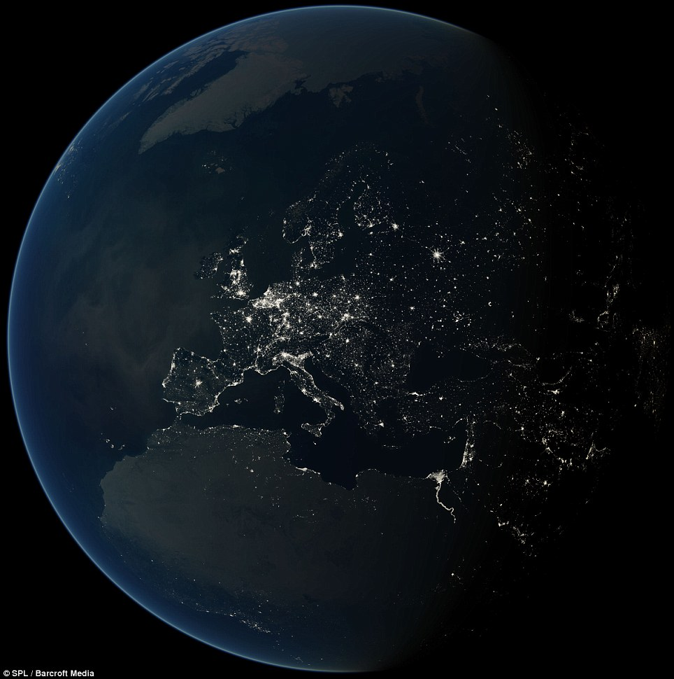 The Black Marble : The Earth from Space at night (3/6)