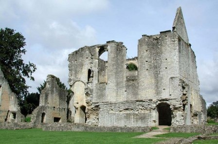 Magical, mysterious ruins at Minster Lovell Hall in Oxfordshire.