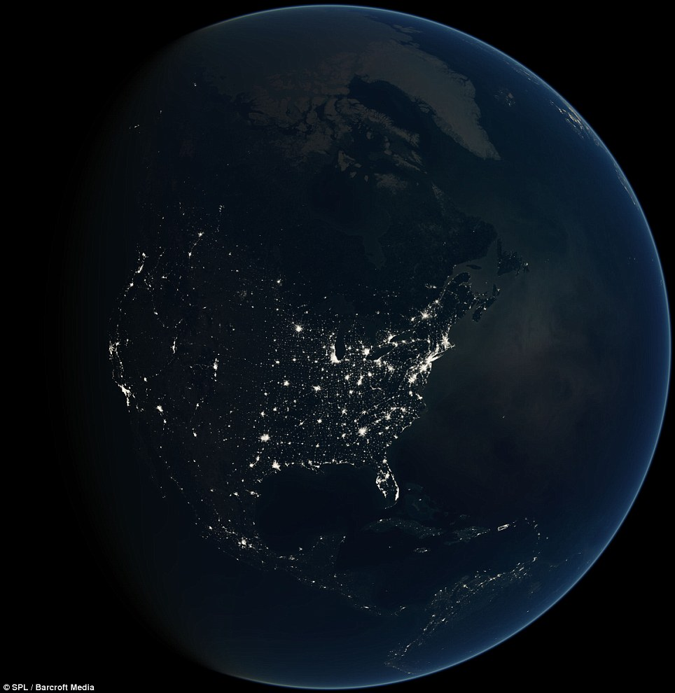 The Black Marble : The Earth from Space at night (6/6)