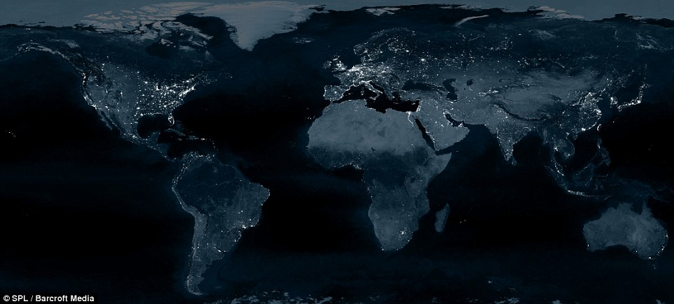 The Black Marble : The Earth from Space at night (1/6)
