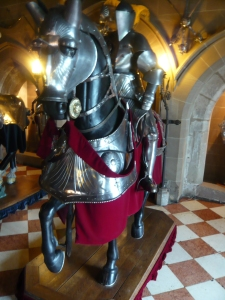 Warwick Castle Knight in armour.