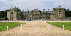 Woburn Abbey in Rural Bedfordshire