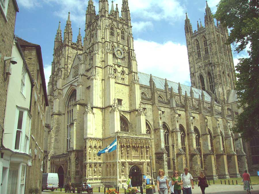 Canterbury Cathedral:- The murder and martyrdom of Thomas Becket (1/4)