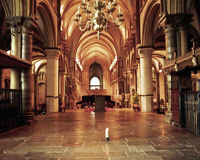 The shrine of Thomas Becket