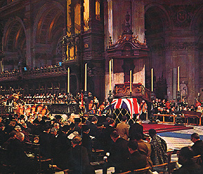 State Funeral in St. Pauls Cathedral?
