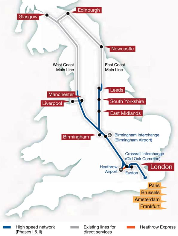 HS2 map