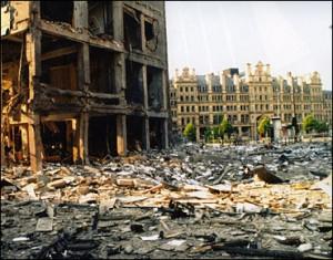 Manchester bomb damage