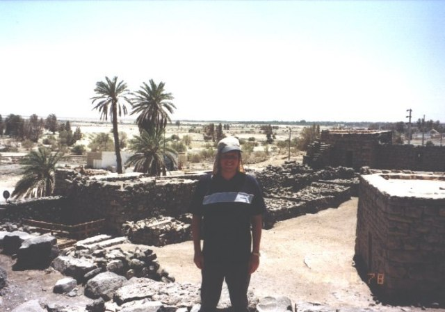 Stephen Liddell at Azraq Castle