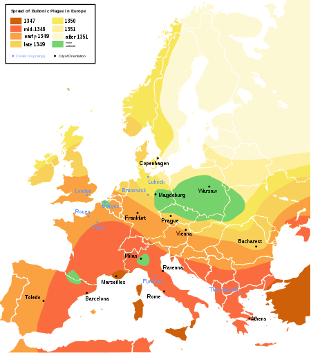 Spread of The Plague