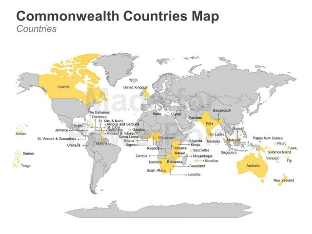 editable-ppt-templates-commonwealth-countries-map