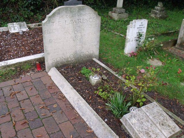 T E Lawrence Grave