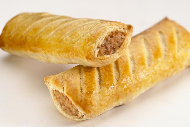 These sausage rolls from Greggs The Bakers were just one type of ...