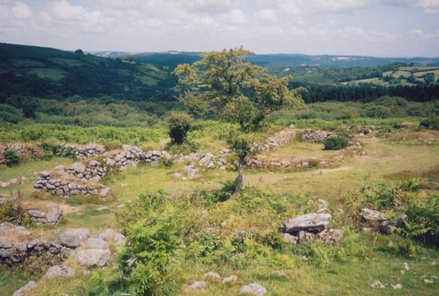 Hound Tor abandoned village