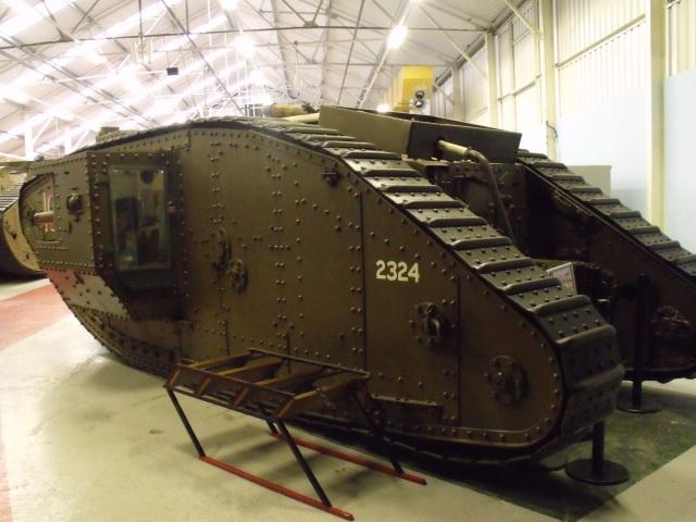 Original WW1 Tank