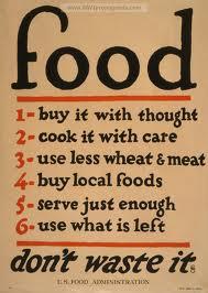 U.S Wartime Food poster