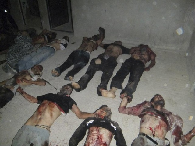 Massacre in Syria