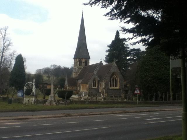 Beautiful St. Pauls Church Langelbury