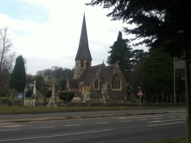 Beautiful St. Pauls Church Langelbury