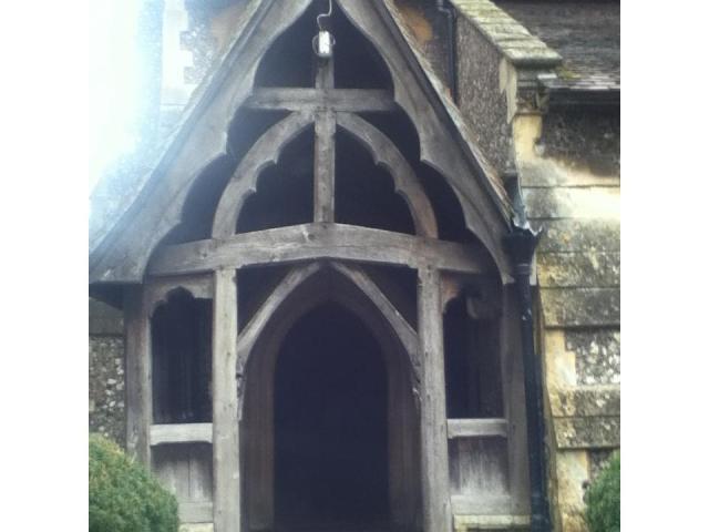 All Saints Front Porch