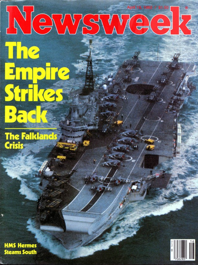 The Falklands War not only saved Thatchers career but some would say inspired the final confrontation with Communism.