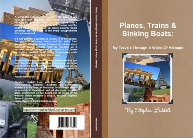 Trains, Planes and Sinking boats paperback cover